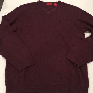 Cotton Blend sweater. Burgundy. EUC. Large
